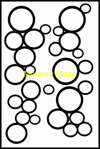 Circles on circles 110 x 180 min buy 3 Memory Maze